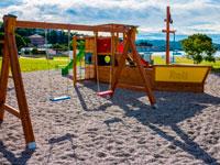 Детская-площадка, Apartmaji Vile Barka 3*, Порторож, Словения
