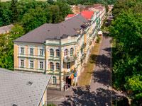 Экстерьер-отеля, Metropol 3*, Франтишковы Лазне, Чехия