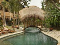 Индонезия/о. Бали/Удуд/Alaya Resort Ubud 4*/бассейн с бамбуковым мостиком