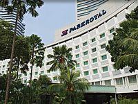 вид отеля Plaza Parkroyal on Beach Road 4*, Сингапур