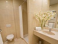Ванная комната, Angelis 3*, Прага, Чехия