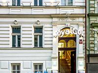 Экстерьер отеля, Royal Court 4*, Прага, Чехия