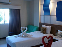 Номер в отеле, Camelot Pattaya 3*, Паттайя, Тайланд
