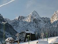 Общий вид отеля, Alpina 3*, Краньска-Гора, Словения