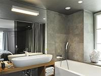 Ванная комната, Vander Urbani Resort 4*, Любляна, Словения