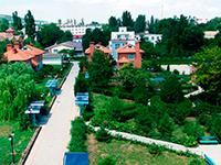 Территория-отеля, Новый свет, Новый свет, Крым