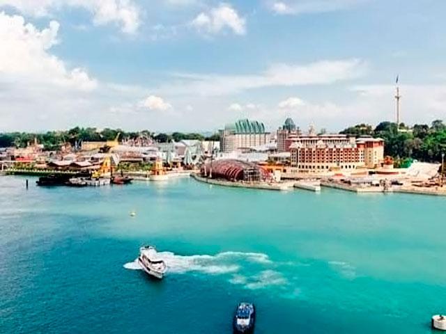 Resorts World Sentosa: общий вид комплекса