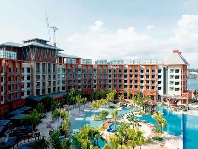 Resorts World Sentosa: Hard Rock Hotel - общий вид отеля