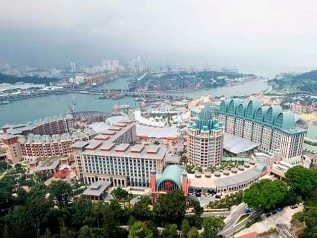 Resorts World Sentosa: общий вид отелей