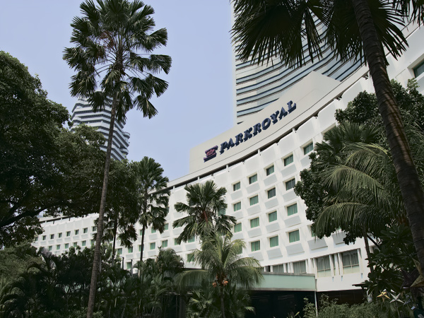 Фасад отеля Prakroyal on Beach Road 4*, Сингапур