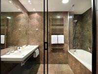Ванная-комната, Plaza 4*, Любляна, Словения