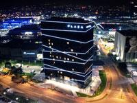 Общий-вид-отеля, Plaza 4*, Любляна, Словения