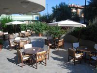 Терраса, Caravelle Hotel 3*, Пезаро, Италия